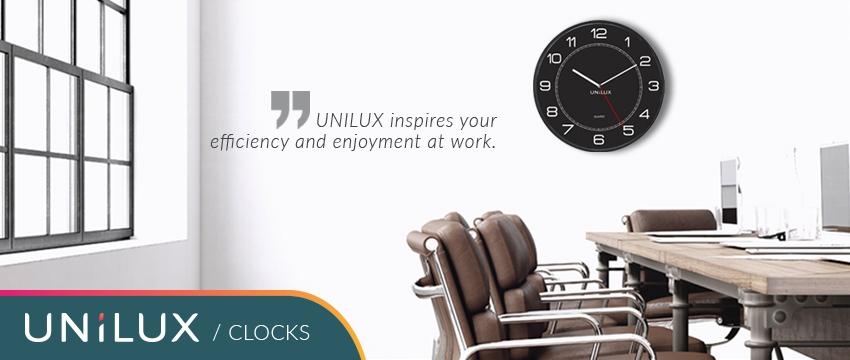 Unilux clocks